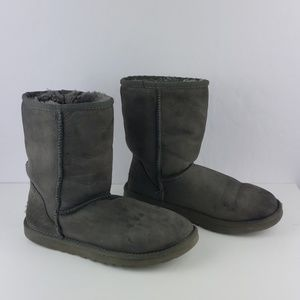 UGG Gray Well Loved Pull On Boots Size 6